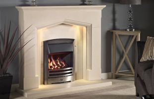 "Swinford 54"" in Satin Beige"