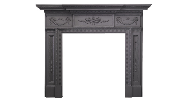 William IV Cast Iron Mantel