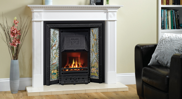 Victorian Tiled Convector Fireplaces